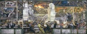 Detroit Industry, North Wall, Diego M. Rivera, Detroit Institute of Arts