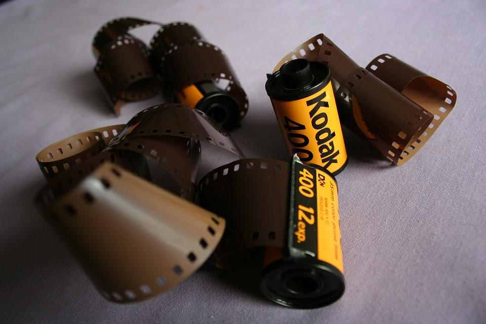 Kodak Roll Photography Film Negative Old Retro